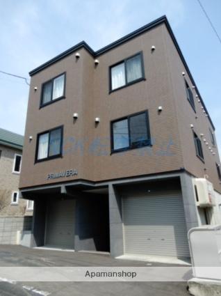 北海道札幌市東区、苗穂駅徒歩18分の築1年 3階建の賃貸アパート