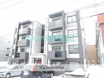 北海道札幌市北区、麻生駅徒歩15分の新築 4階建の賃貸マンション