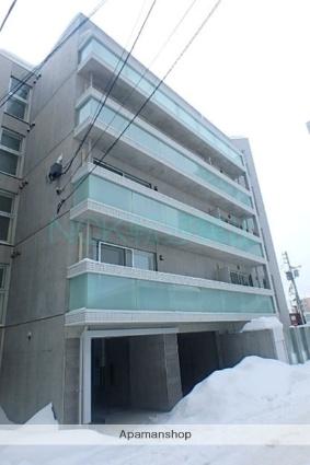 北海道札幌市東区、札幌駅徒歩11分の築1年 5階建の賃貸マンション