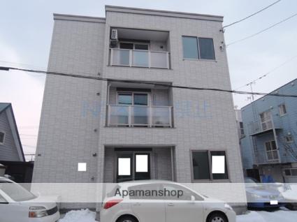 北海道札幌市北区、百合が原駅徒歩27分の新築 3階建の賃貸アパート