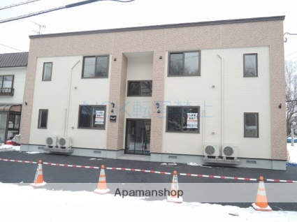 北海道札幌市北区、新琴似駅徒歩19分の新築 2階建の賃貸アパート