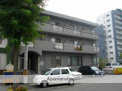 北海道札幌市北区、北24条駅徒歩13分の築23年 3階建の賃貸マンション