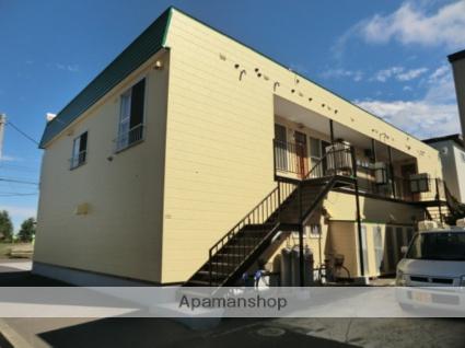 北海道札幌市北区、篠路駅徒歩24分の築24年 2階建の賃貸アパート