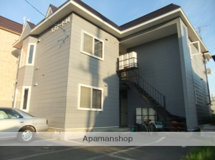 北海道札幌市東区、新琴似駅徒歩19分の築25年 2階建の賃貸アパート