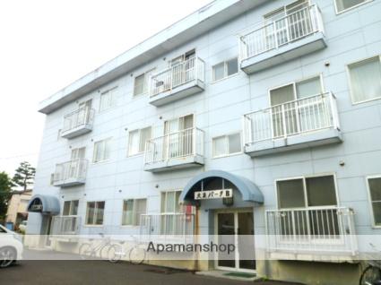 北海道札幌市東区、環状通東駅徒歩6分の築28年 3階建の賃貸マンション