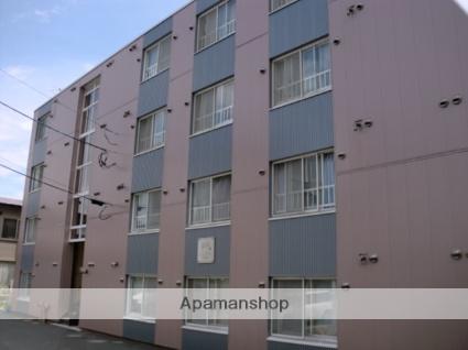 北海道札幌市東区、苗穂駅徒歩25分の築28年 4階建の賃貸マンション