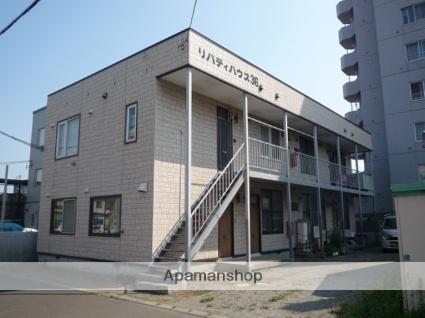 北海道札幌市東区、北24条駅中央バスバス10分北37条東8丁目下車後徒歩3分の築34年 2階建の賃貸アパート