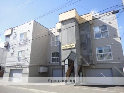 北海道札幌市東区、環状通東駅徒歩9分の築28年 3階建の賃貸アパート