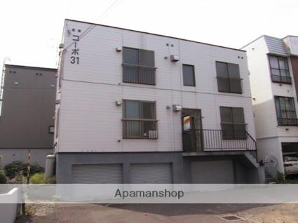北海道札幌市東区、北34条駅徒歩8分の築27年 3階建の賃貸アパート