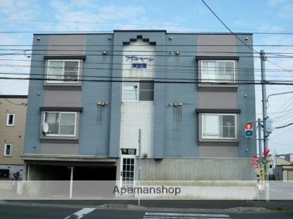 北海道札幌市東区、栄町駅中央バスバス16分東苗穂14−3停下車後徒歩2分の築26年 3階建の賃貸アパート