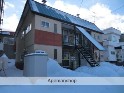 北海道札幌市東区、新琴似駅徒歩16分の築45年 2階建の賃貸アパート
