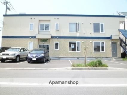 北海道札幌市北区、あいの里教育大駅徒歩14分の築11年 2階建の賃貸アパート