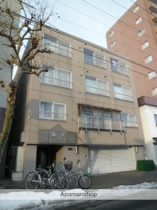 北海道札幌市北区、北18条駅徒歩4分の築22年 4階建の賃貸マンション