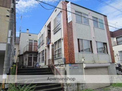北海道札幌市東区、元町駅徒歩10分の築37年 2階建の賃貸アパート