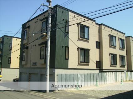 北海道札幌市東区、環状通東駅徒歩5分の築12年 3階建の賃貸アパート