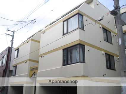 北海道札幌市北区、麻生駅徒歩17分の築29年 4階建の賃貸マンション