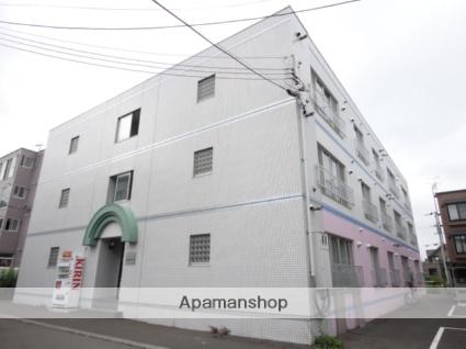 北海道札幌市東区、環状通東駅徒歩3分の築27年 3階建の賃貸マンション