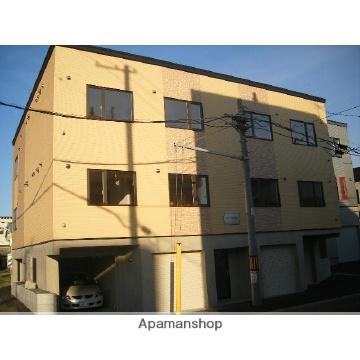 北海道札幌市北区、新川駅中央バスバス10分新琴似6−16下車後徒歩4分の築11年 3階建の賃貸アパート