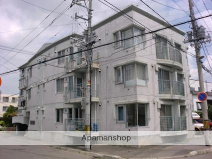 北海道札幌市東区、環状通東駅徒歩12分の築28年 4階建の賃貸マンション