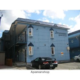 北海道札幌市東区、環状通東駅徒歩8分の築25年 2階建の賃貸アパート