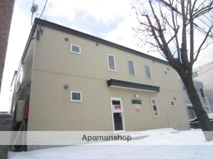 北海道札幌市北区、新琴似駅徒歩16分の築12年 2階建の賃貸アパート