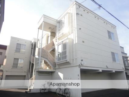 北海道札幌市東区、環状通東駅徒歩7分の築19年 3階建の賃貸アパート
