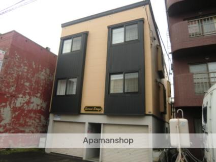 北海道札幌市北区、麻生駅徒歩13分の築14年 3階建の賃貸アパート
