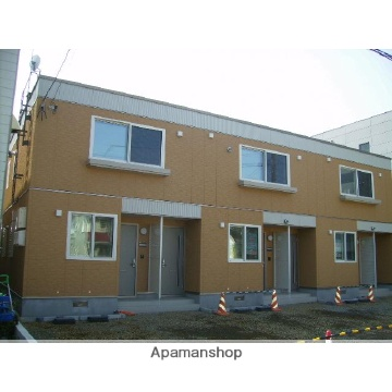 北海道札幌市東区、北18条駅徒歩10分の築10年 2階建の賃貸アパート