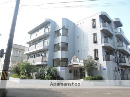 北海道札幌市北区、麻生駅徒歩10分の築27年 4階建の賃貸マンション