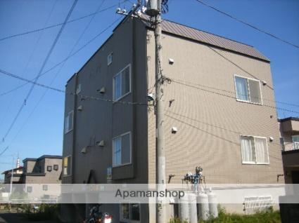 北海道札幌市東区、東区役所前駅徒歩10分の築21年 3階建の賃貸アパート