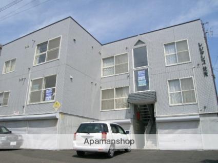 北海道札幌市東区、北24条駅徒歩19分の築30年 3階建の賃貸アパート