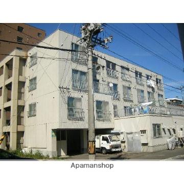 北海道札幌市東区、北18条駅徒歩8分の築31年 4階建の賃貸マンション