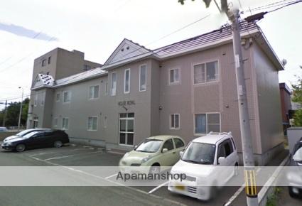 北海道札幌市北区、新琴似駅徒歩5分の築22年 2階建の賃貸アパート