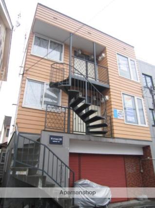 北海道札幌市北区、北34条駅徒歩20分の築32年 3階建の賃貸アパート