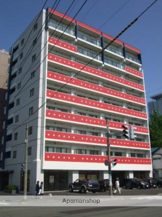 北海道札幌市北区、札幌駅徒歩7分の築11年 9階建の賃貸マンション
