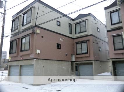 北海道札幌市東区、栄町駅徒歩18分の築21年 3階建の賃貸アパート