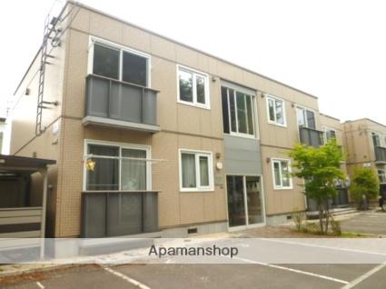 北海道札幌市東区、環状通東駅徒歩18分の築11年 2階建の賃貸アパート