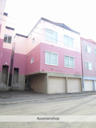 北海道札幌市東区、環状通東駅徒歩6分の築21年 3階建の賃貸アパート