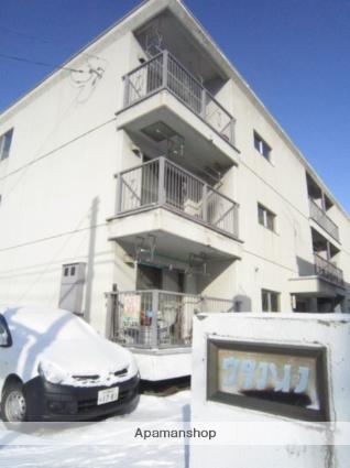 北海道札幌市北区、新川駅徒歩16分の築37年 3階建の賃貸マンション