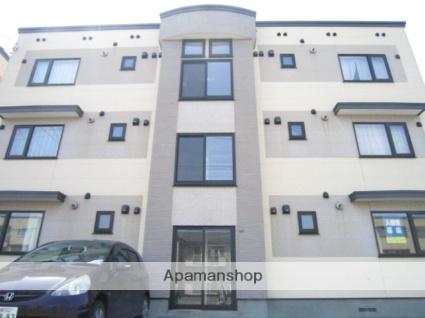 北海道札幌市北区、新琴似駅徒歩17分の築11年 4階建の賃貸マンション