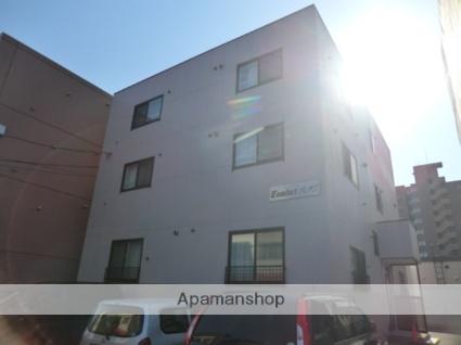 北海道札幌市東区、新道東駅徒歩17分の築13年 3階建の賃貸マンション