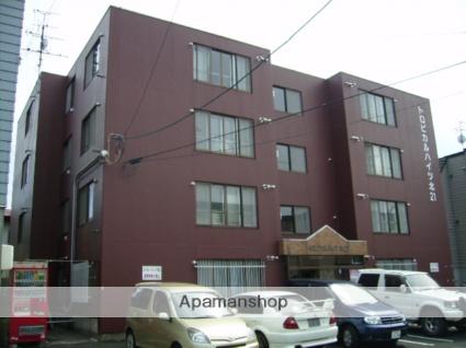 北海道札幌市東区、元町駅徒歩10分の築30年 4階建の賃貸マンション