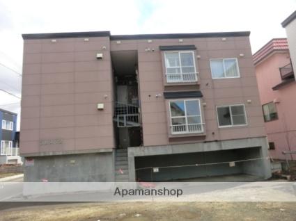 北海道札幌市東区、元町駅中央バスバス9分伏古7−3下車後徒歩3分の築21年 3階建の賃貸アパート