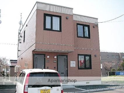 北海道石狩市の築14年 2階建の賃貸テラスハウス