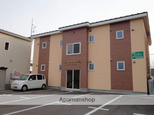 北海道帯広市、柏林台駅徒歩20分の築12年 2階建の賃貸アパート