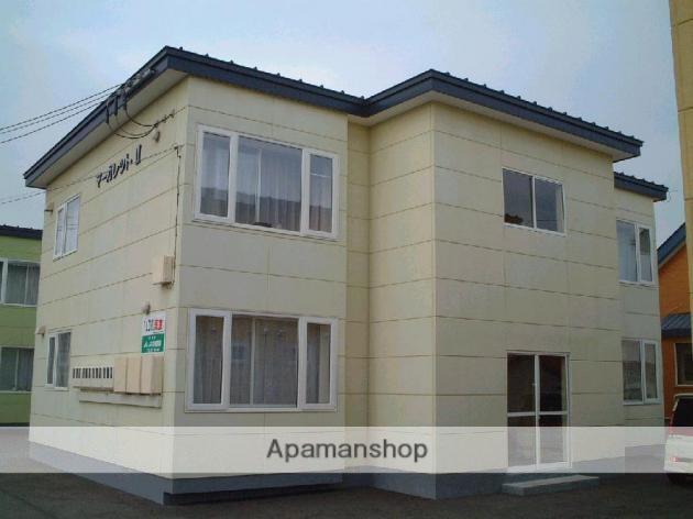 北海道中川郡幕別町、札内駅徒歩5分の築18年 2階建の賃貸アパート