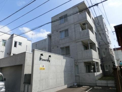 北海道札幌市中央区、西線14条駅徒歩9分の築9年 4階建の賃貸マンション