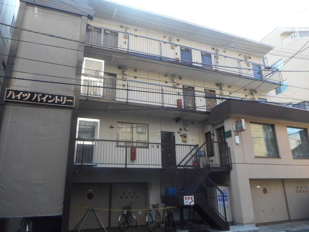 北海道札幌市中央区、西8丁目駅徒歩10分の築32年 4階建の賃貸マンション