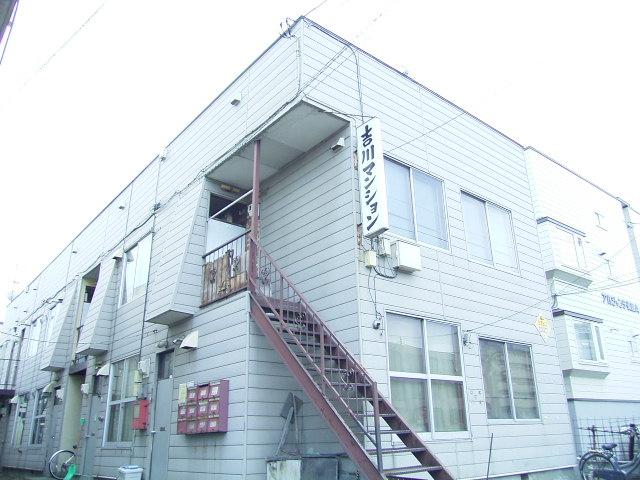 北海道札幌市中央区、桑園駅徒歩5分の築40年 2階建の賃貸アパート