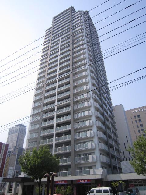 北海道札幌市中央区、札幌駅徒歩4分の築9年 31階建の賃貸マンション